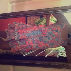 Lilly Pulitzer pink and blue swing dress!